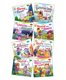 Kid's Story Books Set of 8 - English