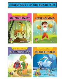 Collection 1 Kids Board Tales  Pack of 4 - English