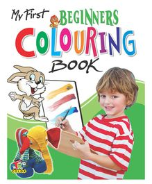 My First Colouring Book Beginners Level - English