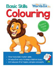 Colouring Book - English