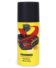 Hot Wheels Performance Deodorant Yellow - 150 ml