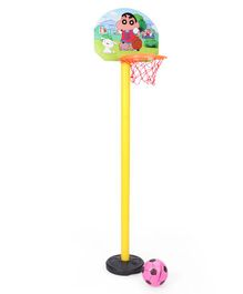 Shinchan Shooting Champs Basketball Set - Yellow