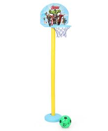 Marvel Avenger Shooting Champs Basketball Set - Yellow