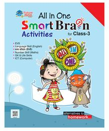 All In One Smart Brain Activities Book for Class 3 - English