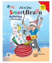 All In One Smart Brain Activities Book for Pre Nursery - English