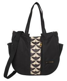Bohomia Katagami Edition Diaper Bag - Black