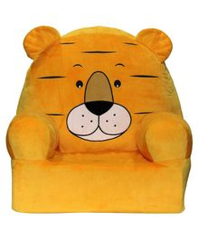 Soft Buddies Animal Shaped Baby Chair - Yellow