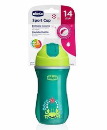 Chicco Insulated Sports Cup - 266 ml (Color & Design May Vary)