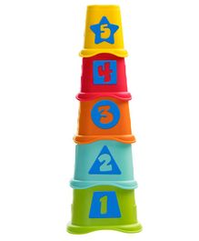 Chicco 2 in 1 Stacking Cups - Multicolour