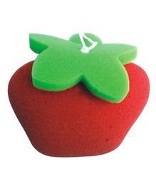 Panache Apple Bath Sponge - Red