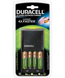 Duracell Hi Speed Advanced Charger - Pack Of 4