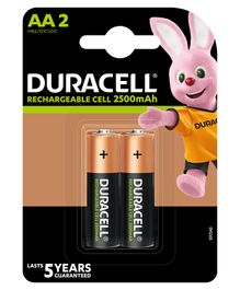 Duracell Ultra AA Rechargeable Batteries - Pack of 2