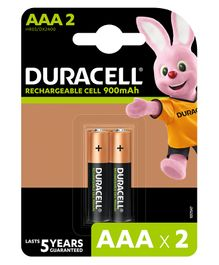 Duracell Ultra AAA Rechargeable Batteries - Pack Of 2
