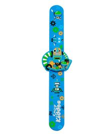 Smilykiddos fancy Scented Slap Band - Blue