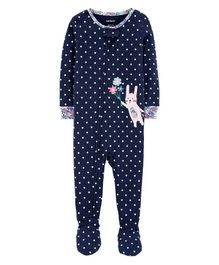 Carter's S19 INFANT SLEEPSUIT Blue 12-18M
