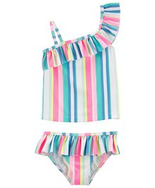 Carter's Striped 2-Piece Swimsuit - Multicolour