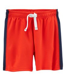 Carter's Active Mesh Shorts - Red