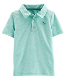 Carter's Snow Yarn Jersey Polo - Mint Green