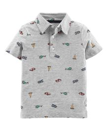 Carter's Car Slub Jersey Polo