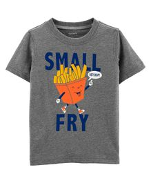 Carter's Small Fry Jersey Tee - Grey