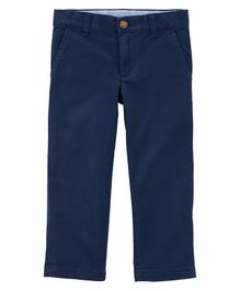 Carter's Stretch Uniform Chinos - Navy Blue