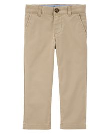 Carter's Stretch Uniform Chinos - Beige
