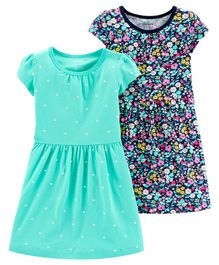 Carter's 2-Pack Jersey Dress Set - Blue