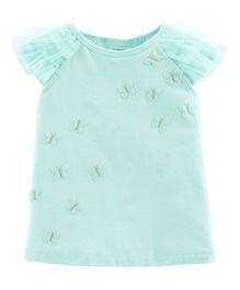 Butterfly Ruffle Top
