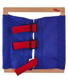 Eduedge Wooden Buckles Frame - Blue