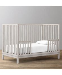 The Baby Atelier Fitted Crib Sheet - off White