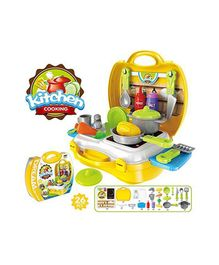 GetBest Kitchen Playset Yellow - Pack of 17 Pieces