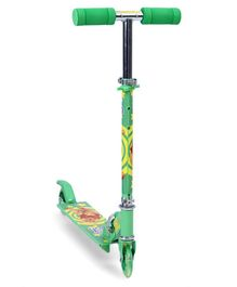 Disney Winnie The Pooh Two Wheel Scooter - Green