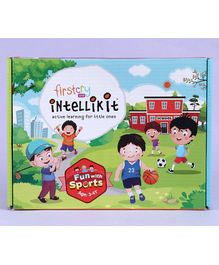 FirstCry Intellikit Fun With Sports Kit (3 - 4 Y)