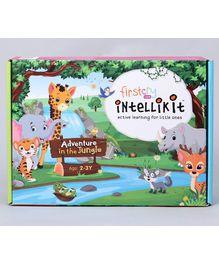FirstCry Intellikit Adventure in the Jungle Kit (2 - 3 Y)