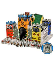 Toyshine Create And Paint Your Own Castle House Toy - Multi Color