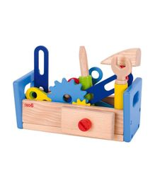 Goki Wooden Work Tools - Multicolour