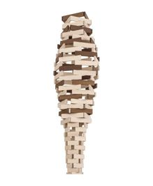 Goki Wooden Building Blocks Beige - 200 Pieces