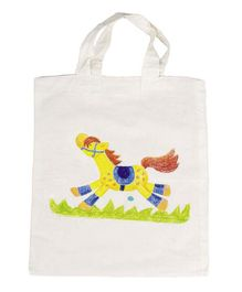 Goki Cotton Bag - White