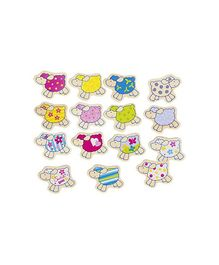 Goki Susibelle Wooden Memo Game Multi Colour - 32 Pieces
