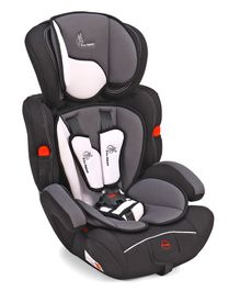 R for Rabbit Jumping Jack The Growing Baby Forward Facing  Car Seat - Black And White