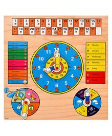 Toyshine Wooden Puzzle Game - Multicolour