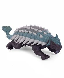 Jurassic World Battery Operated Ankylosaurus Action Figure Blue Black - Length 24 cm