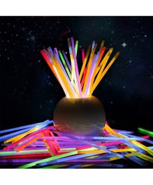 Skylofts Light Up Glow Toy Sticks Multicolour - Pack of 50