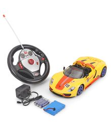 Dr. Toy Remote Control Racing Car - Orange & Yellow