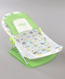 Babyhug Bubble Joy Bather Polka Print - Green