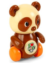 Playmate Wind Up Panda Toy - Brown