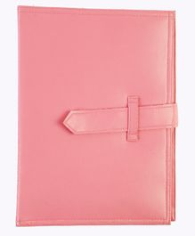 My Gift Booth Jewelry Book Travel Organizer 9 Pockets - Pink