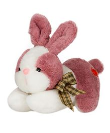 Dhoom Soft Toys Bunny Dark Pink - Length 20 cm