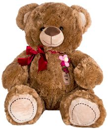 Dhoom Soft Toys Teddy Bear Dark Brown - Height 40 cm