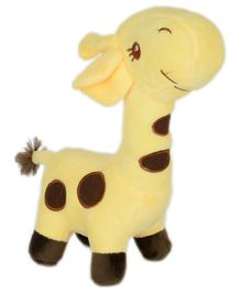 Dhoom Soft Toys Giraffe Yellow - Height 27 cm